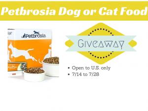Petbrosia Dog or Cat Food