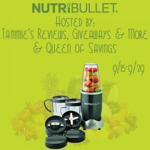 NutriBullet Giveaway image