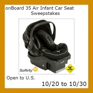 infant car seat image