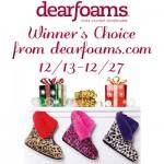 dearfoams-giveaway