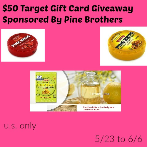 $50 Target Gift Card #Giveaway {ends 6/7}