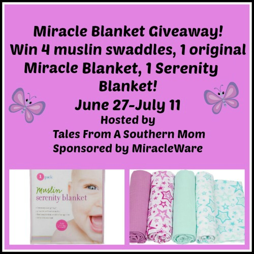 Miracle Blanket Gift Set #Giveaway{ends 7/11}