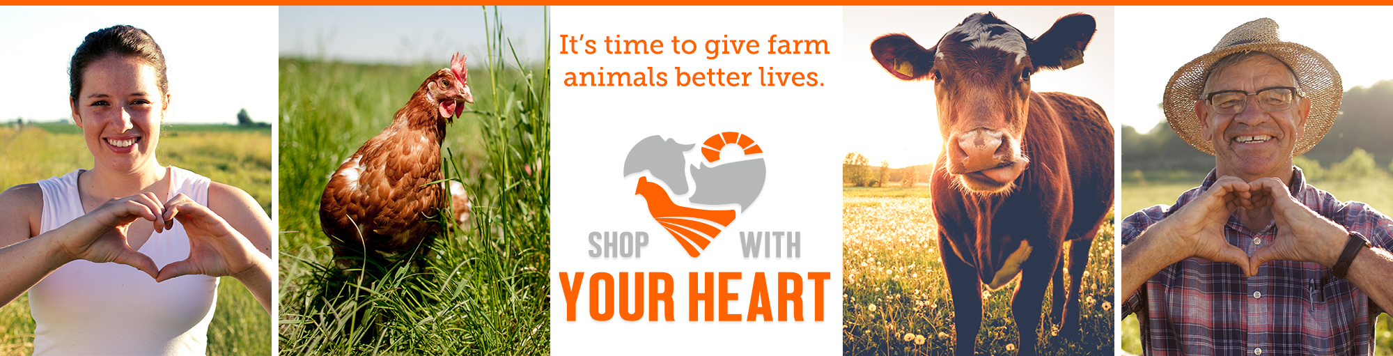 "Join the ""Shop With Your Heart"" initiative from the ASPCA"