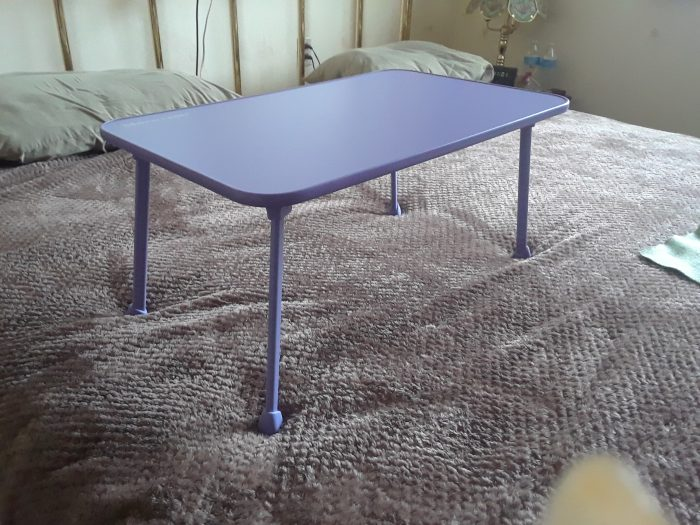 Remarkable Nnewvante Large Bed Tray Purple Review Tammies Take Uwap Interior Chair Design Uwaporg