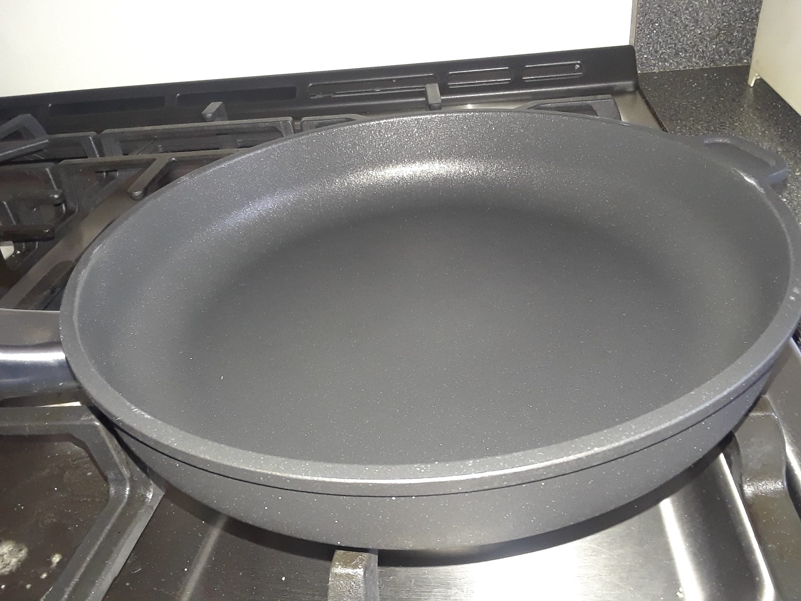 """Ozeri Professional Series 10"""" Ceramic Earth Fry Pan, Hand Cast and Made in Germany #Review HGG18 @ozeriproducts"""