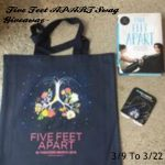 FIVE FEET APART In Theaters March 15th! & A #Giveaway, Too! @FIVEFEETAPART #Ad