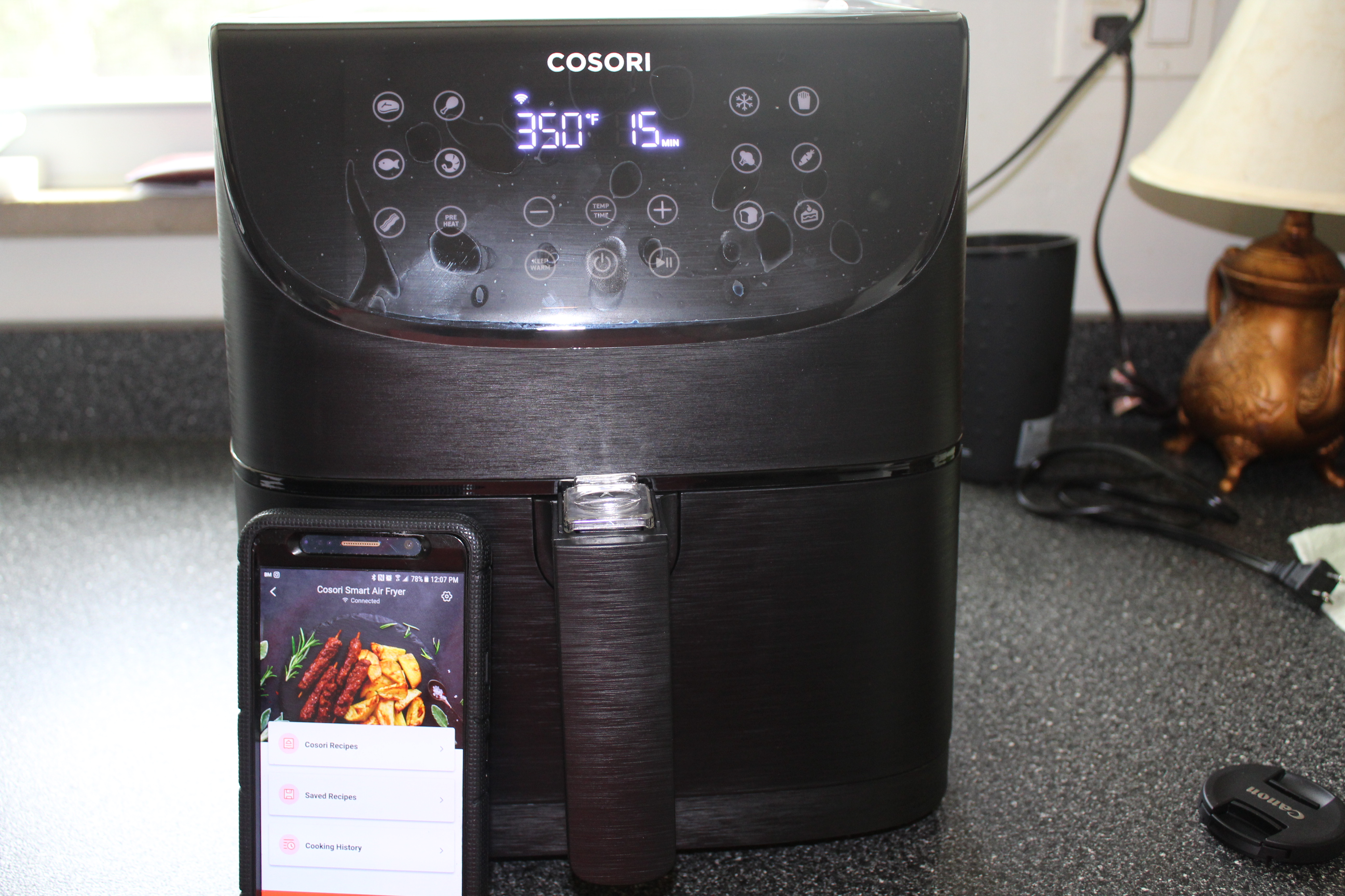 New Cosori Smart Wifi Air Fryer #Review & #Recipe