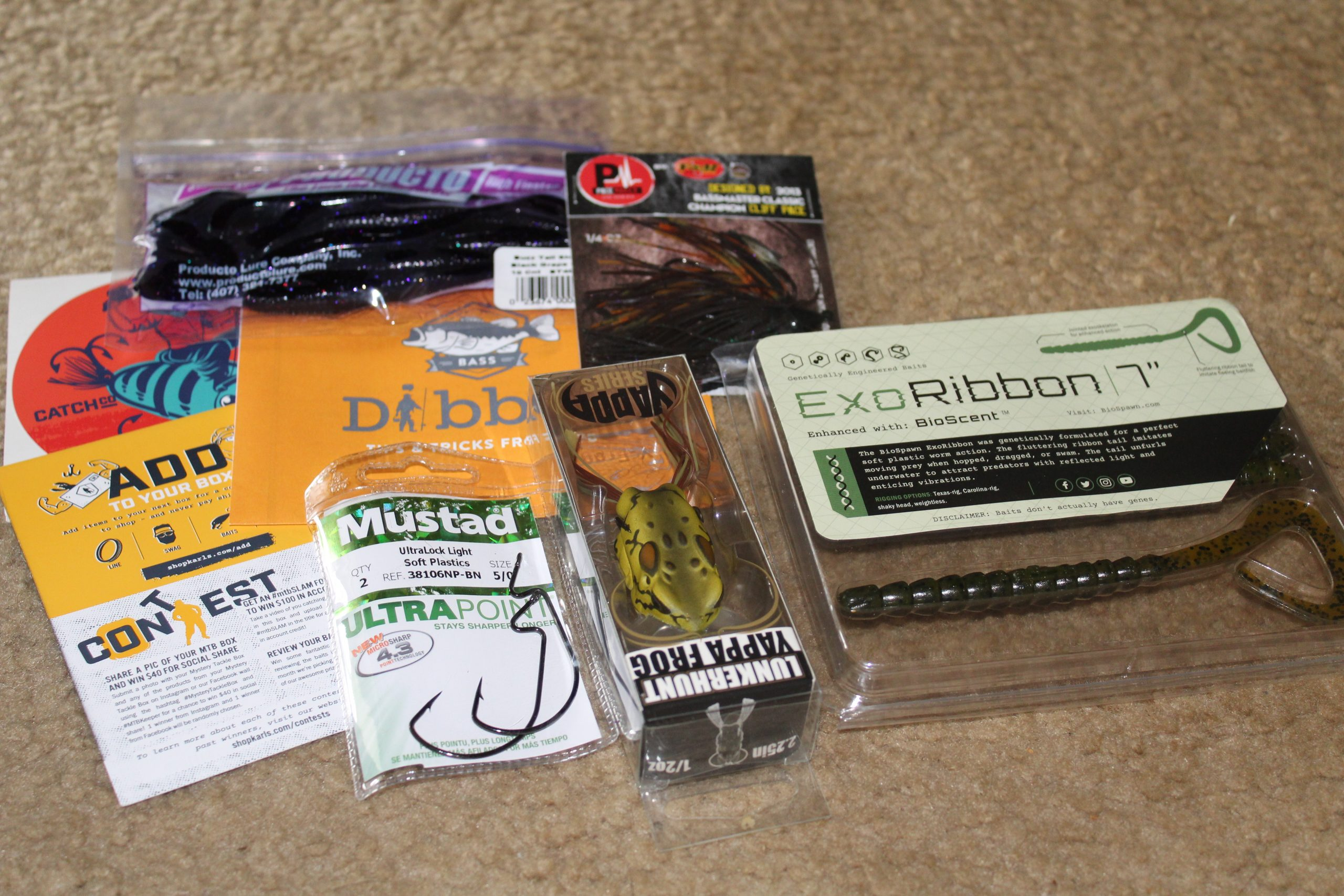 Mystery Tackle Subscription Box #Review #HGG19 #mysterytacklebox