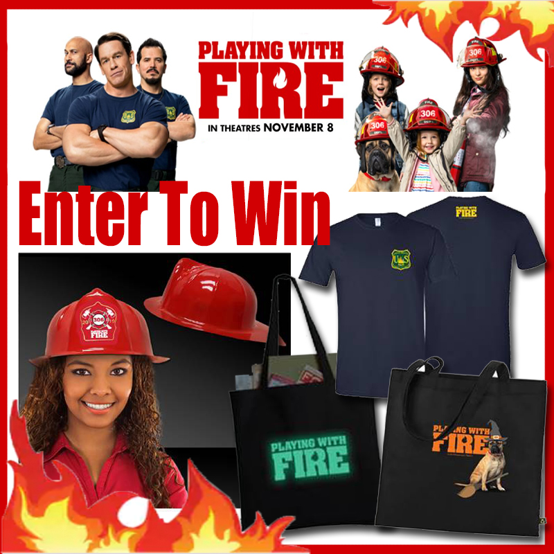 Playing With Fire Hits Theaters Nov. 8th And A #Giveaway #PlayingWithFireMovie