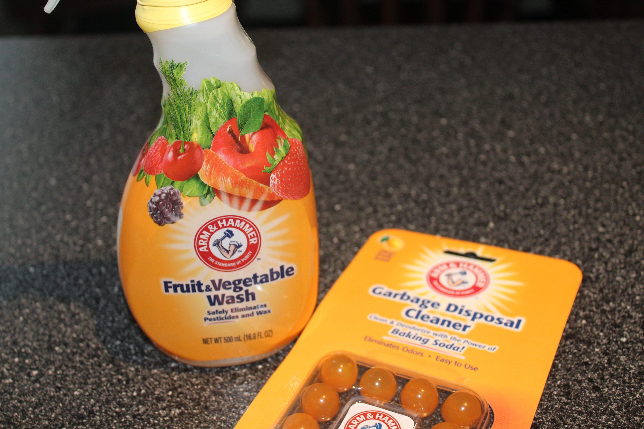 Arm & Hammer Garbage Disposal Cleaner & Fruit & Vegetable Wash #Review #HGG19