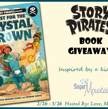 The Story Pirates Book Giveaway{end 3/26}