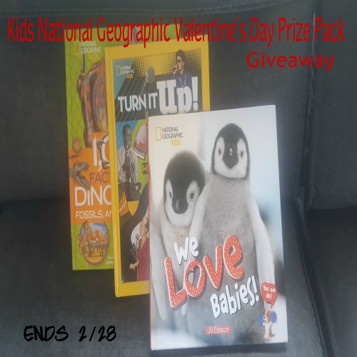 #Win Kids National Geographic Valentine's Day Prize Pack #Giveaway{ends 2/25} @NGKidsBks
