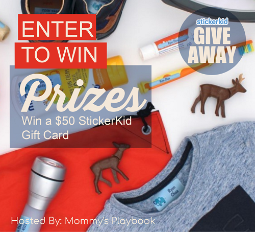 $50 StickerKid Gift Card #Giveaway{ends 2/24}