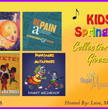 Kids Spring CD Music Collection Giveaway!{Ends 5/15}