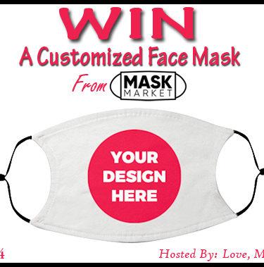 Mask Market Custom Mask Giveaway{ends 6/14}