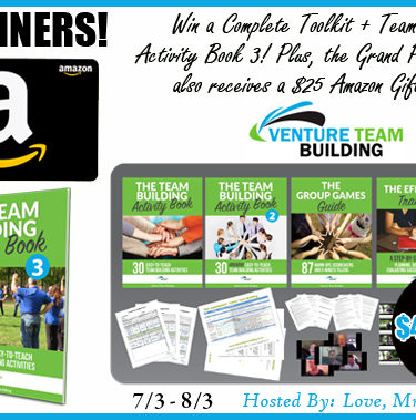 5 WINNERS! $400 TRV Giveaway! $Amazon Gift Card + More!{ends 8/3}