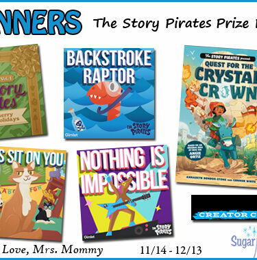 2 WINNERS! Story Pirates HUGE Prize Package Giveaway{ends 12/13}