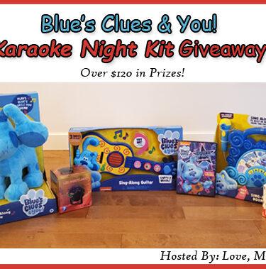 HUGE Blue's Clues & You! Karaoke Night Kit Giveaway! $120+ RV!{ends 3/9}