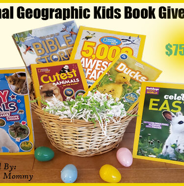$75 National Geographic Kids Easter Book Giveaway{4/23}