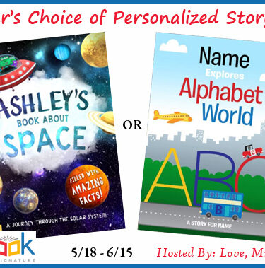 WW Giveaway – In The Book Personalized Storybook! #Giveaway{ends 6/15}