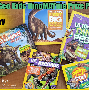 $80 Nat Geo Kids DinoMAYnia Prize Pack{ends 6/2}