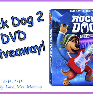 Rock Dog 2: Rock Around The Park DVD Giveaway!{ends 7/13}