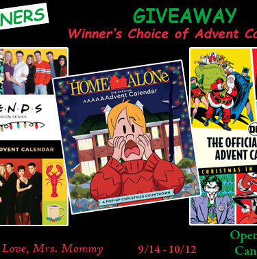 3 WINNERS! Winner's Choice of Insight Editions Advent Calendar Giveaway!{ends 10/12}